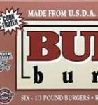 Bubba Burgers Original 6 Count 32 oz