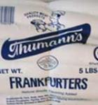 Thumanns Hot Dogs 5Lb