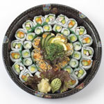 Assorted Maki Roll Sushi Platter 40 Pieces (Serves 4)