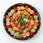 Mega Maki Roll & Nigiri Sushi Platter 59 Pieces (Serves 6)