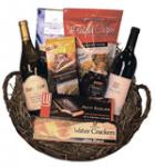 Corporate Bonus Wine Gift Basket