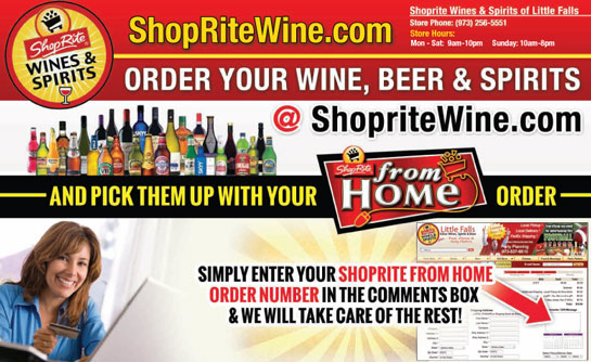 Add to your Shoprite From Home Order