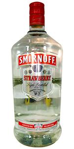 Smirnoff Strawberry Vodka 1.75L