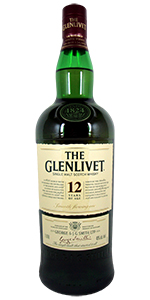 Glenlivet 12 Year Old Scotch 1L