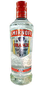 Smirnoff Orange Vodka 375ml