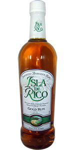 Isla De Rico Gold Rum 750ml