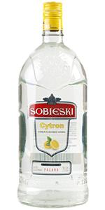 Sobieski Cytron Vodka 1.75L