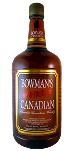 Bowman's Canadian Whiskey 1.75L