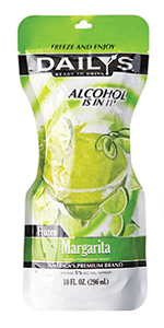 Daily's Frozen Margarita Pouch 10oz