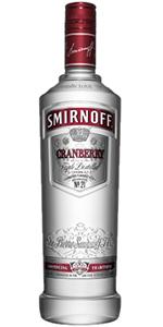 Smirnoff Cranberry Vodka 1L