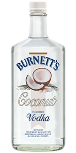 Burnetts Coconut Vodka 1.75L