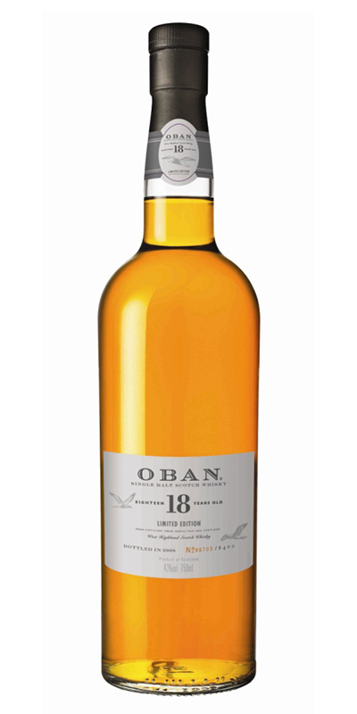 Oban 18 Year Single Scotch 750ml