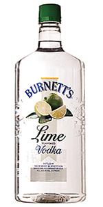Burnetts Lime Vodka 1.75L