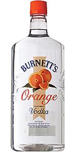 Burnetts Orange Vodka 1.75L