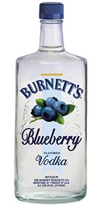 Burnetts Blueberry  Vodka 1.75L