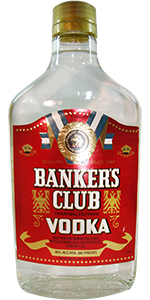 Bankers Club Vodka 375ml