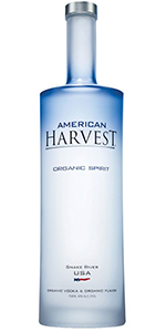 American Harvest Vodka Organic 750ml