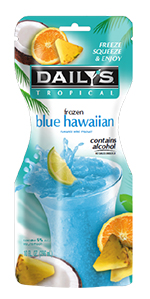 Daily's Frozen Blue Hawaiian Pouch 10oz