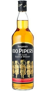 Seagrams 100 Pipers Scotch 1.75L