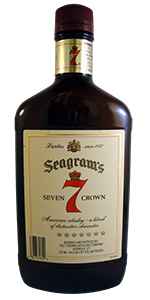 Seagrams Seven Crown 375ml