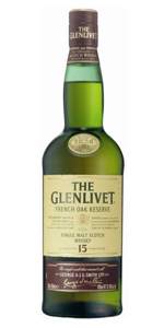 Glenlivet French Oak Reserve 15 Year Single Malt Scotch 750ml