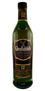 Glenfiddich 12 yr Single Malt Scotch Whiskey 750ml