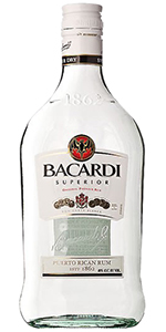 Bacardi Light Rum 375ml