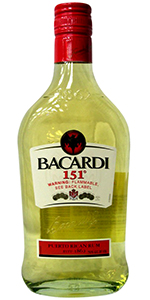 Bacardi 151 Proof Rum 375ml