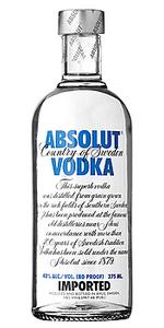 Absolut 80 Vodka 375ml