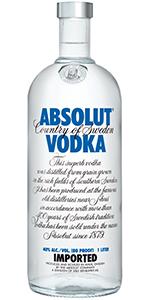 Absolut 80 Vodka 750ml