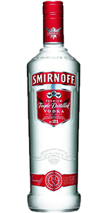 Smirnoff Vodka 80 1L
