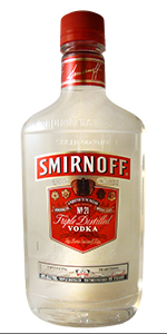 Smirnoff Vodka 80 Flask 375ml