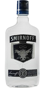 Smirnoff Vodka 100 Proof 375ml