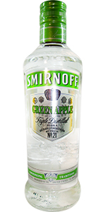 Smirnoff Green Apple Twist 375ml