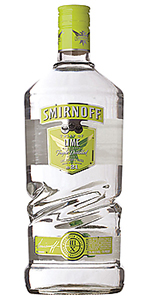 Smirnoff Lime Vodka 1.75L