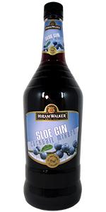 Hiram Walker Sloe Gin 1L