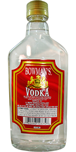 Bowman's Vodka 375ml