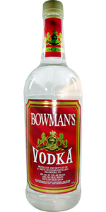 Bowman's Vodka 1L