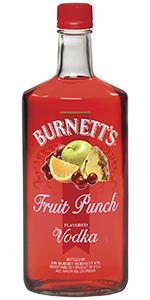 Burnetts Fruit Punch Vodka 175L Kentucky Vodka