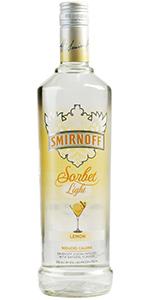 Smirnoff Light Lemon Sorbet Vodka 750ml