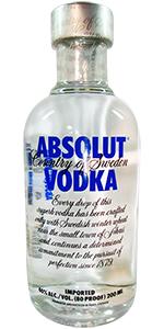 Absolut 80 Vodka 200ml