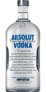 Absolut 80 Vodka 1.75L