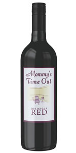 Mommy's Time Out Rosso