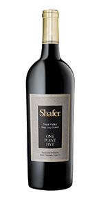 2009 Shafer Cabernet Sauvignon One Point Five