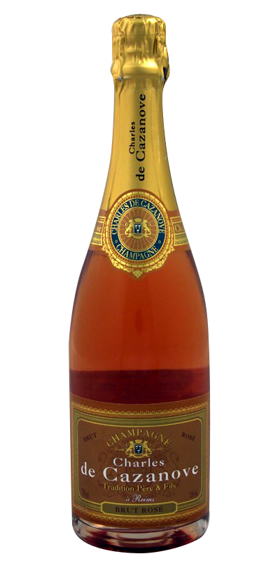 Charles De Cazanove Rose Champagne