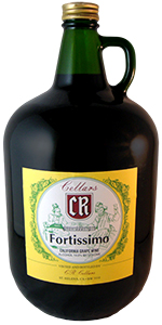 Cr Cellars Fortissimo 4l Red Blend From California Red
